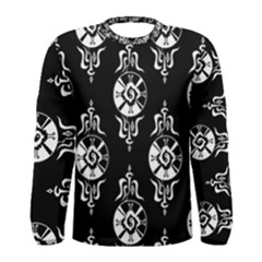 Shamanatrix Galactic Star*gate Infinity *mens Long Sleeve Shirt by Shamanatrix