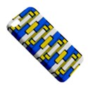 Yellow blue white shapes pattern Apple iPhone 5 Premium Hardshell Case View5