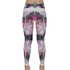 Nature Forces Abstract Yoga Leggings by infloence