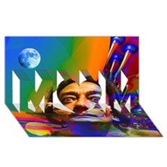 Dream Of Salvador Dali Mom 3d Greeting Card (8x4)  by icarusismartdesigns