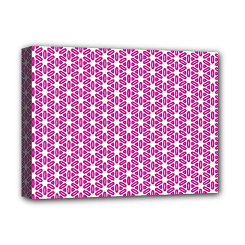 Cute Pretty Elegant Pattern Deluxe Canvas 16  X 12   by creativemom
