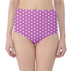 Cute Pretty Elegant Pattern High-waist Bikini Bottoms by creativemom