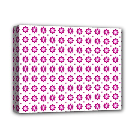 Cute Pretty Elegant Pattern Deluxe Canvas 14  X 11  by creativemom