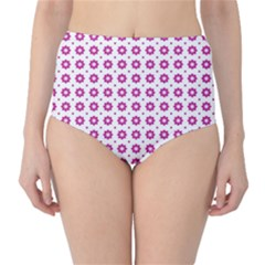 Cute Pretty Elegant Pattern High Waist Bikini Bottoms by creativemom