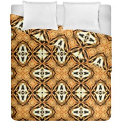 Faux Animal Print Pattern Duvet Cover (double Size)