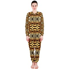 Faux Animal Print Pattern Onepiece Jumpsuit (ladies)  by creativemom
