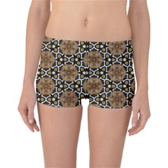 Faux Animal Print Pattern Boyleg Bikini Bottoms by creativemom