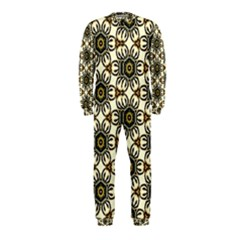 Faux Animal Print Pattern Onepiece Jumpsuit (kids)