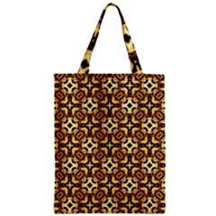 Faux Animal Print Pattern Classic Tote Bags by creativemom