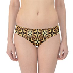 Faux Animal Print Pattern Hipster Bikini Bottoms by creativemom