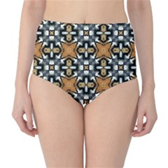Faux Animal Print Pattern High-waist Bikini Bottoms by creativemom