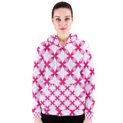 Cute Pretty Elegant Pattern Women s Zipper Hoodies by creativemom