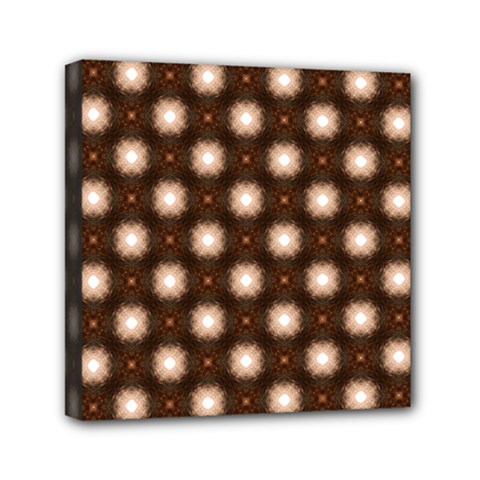 Cute Pretty Elegant Pattern Mini Canvas 6  X 6