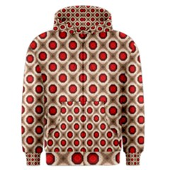 Cute Pretty Elegant Pattern Men s Zipper Hoodies by creativemom