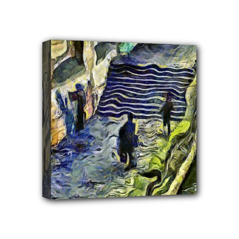 Banks Of The Seine Kpa Mini Canvas 4  X 4  by karynpetersart