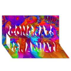 Brainstorm Congrats Graduate 3d Greeting Card (8x4)  by icarusismartdesigns