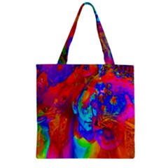 Brainstorm Zipper Grocery Tote Bags by icarusismartdesigns