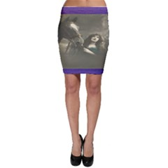 Vintage Woman With Horse Bodycon Skirts