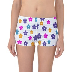 Candy Flowers Boyleg Bikini Bottoms by designmenowwstyle