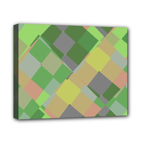 Squares And Other Shapes Canvas 10  X 8  (stretched) by LalyLauraFLM