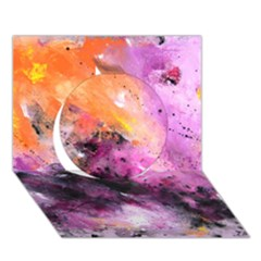 Nebula Circle 3d Greeting Card (7x5)  by timelessartoncanvas