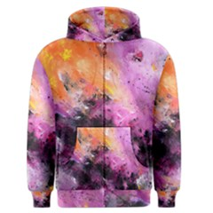 Nebula Men s Zipper Hoodies by timelessartoncanvas