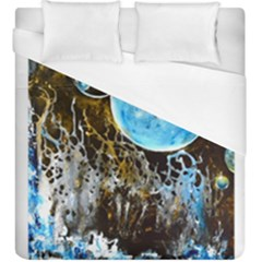 Space Horses Duvet Cover Single Side (kingsize) by timelessartoncanvas