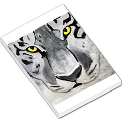 The Eye Of The Tiger Large Memo Pads by timelessartoncanvas
