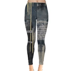 The Dutiful Rise Women s Leggings by timelessartoncanvas