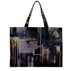 The Dutiful Rise Zipper Tiny Tote Bags by timelessartoncanvas
