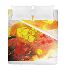 Fire, Lava Rock Duvet Cover (twin Size) by timelessartoncanvas