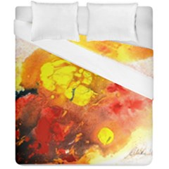 Fire, Lava Rock Duvet Cover (double Size)
