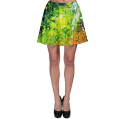 Abstract Landscape Skater Skirts