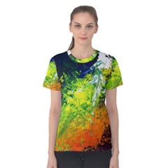 Abstract Landscape Women s Cotton Tees