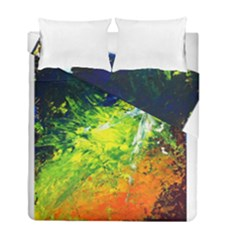 Abstract Landscape Duvet Cover (twin Size)