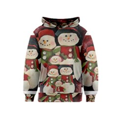 Snowman Family No. 2 Kid s Pullover Hoodies