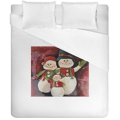Snowman Family No. 2 Duvet Cover (Double Size)
