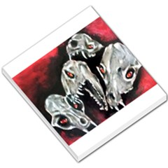 Halloween Skulls No  3 Small Memo Pads