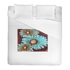 Fall Flowers No  2 Duvet Cover Single Side (twin Size) by timelessartoncanvas