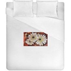 Fall Flowers No  3 Duvet Cover Single Side (double Size) by timelessartoncanvas