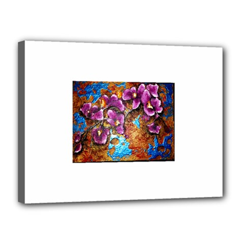 Fall Flowers No  5 Canvas 16  X 12  by timelessartoncanvas