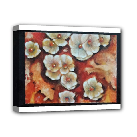 Fall Flowers No  6 Deluxe Canvas 14  X 11  by timelessartoncanvas