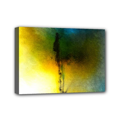Watercolor Abstract Mini Canvas 7  x 5
