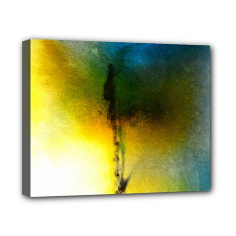 Watercolor Abstract Canvas 10  x 8