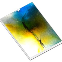 Watercolor Abstract Large Memo Pads