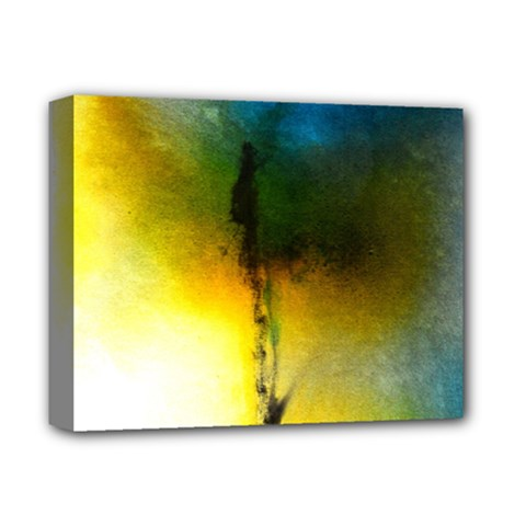 Watercolor Abstract Deluxe Canvas 14  x 11