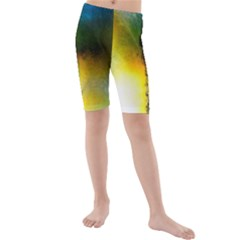 Watercolor Abstract Kid s swimwear