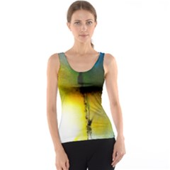 Watercolor Abstract Tank Tops