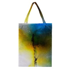 Watercolor Abstract Classic Tote Bags