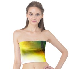 Watercolor Abstract Women s Tube Tops